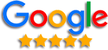 Google Rating 5 star badge